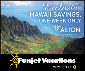 Funjet Hawaii Sale