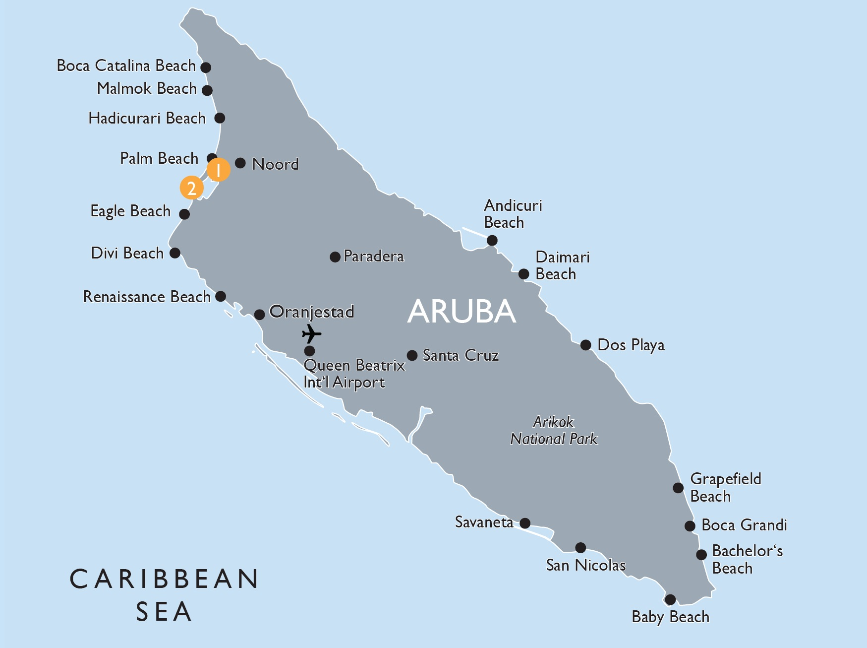Aruba Baby Beach Map – Best Beach On The World 2017 on map of riu aruba, map of hotels on eagle beach aruba, map of aruba timeshares, map of aruba high-rise, map of palm beach in aruba the caribbean,