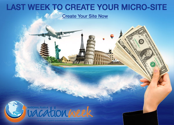 Last Week to Create Your Micro-site for NPAVW 2012