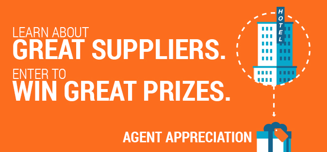 Learn About Great Suppliers. Enter to Win Great Prizes. Agent Appreciation.